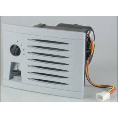 KUBA 350 melegvizes fűtőradiátor 12V szürke