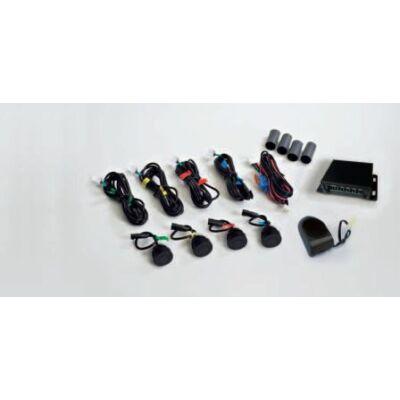 PS-4/F gumi 4 szenzorral fém lökhárítóba tolatóradar / tolatásjelző