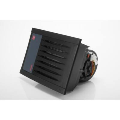 KUBA FA 350 melegvizes fűtőradiátor 12V fekete