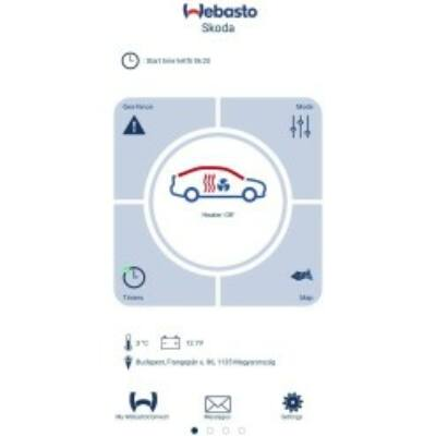 Webasto Thermo Connect / TCon2 készlet